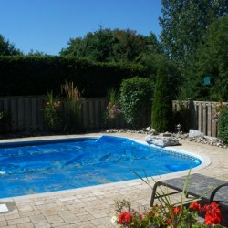 Pool and interlock type deck