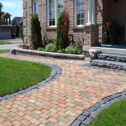 interlock front walkwy